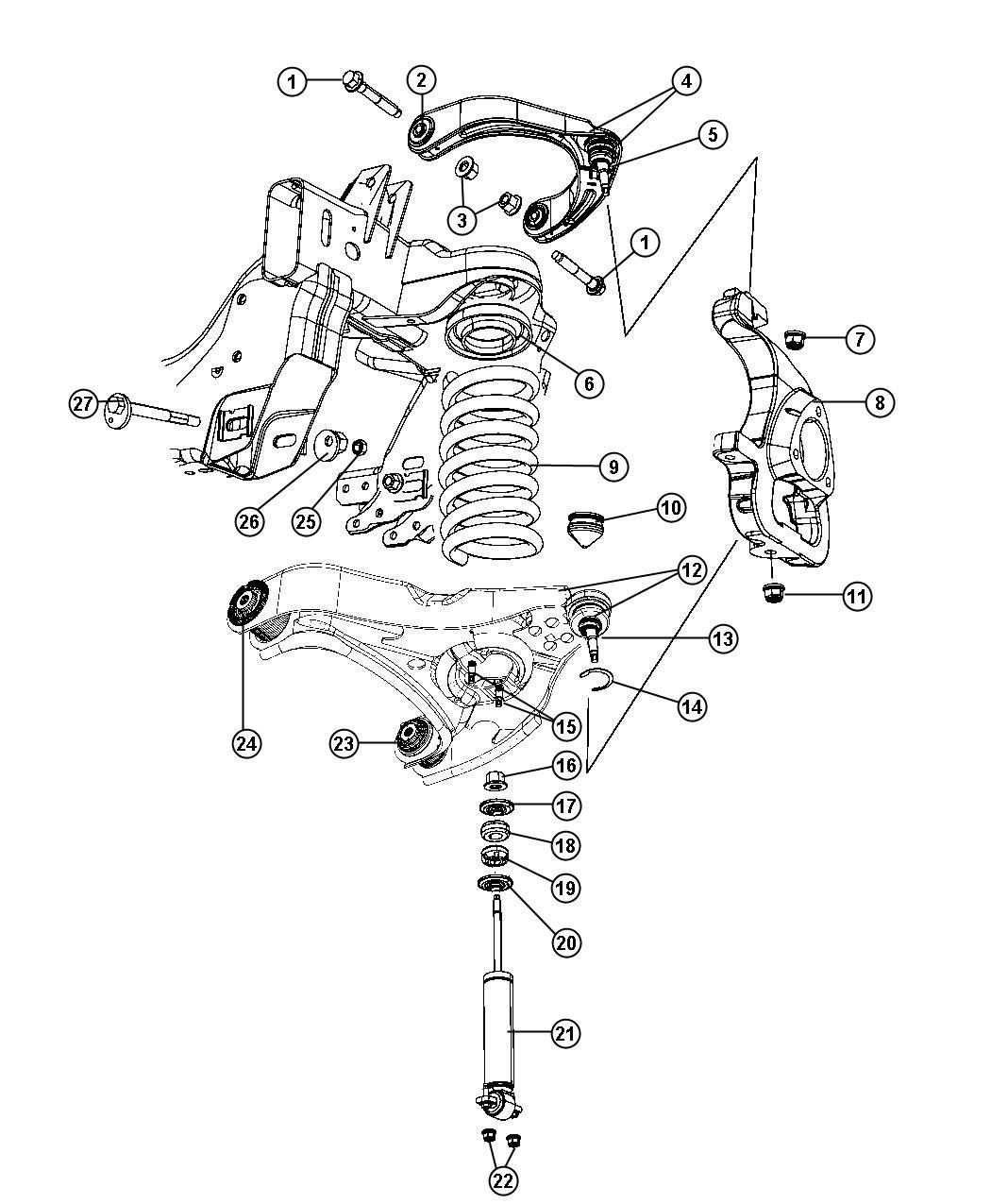 2012 dodge ram 3500 shock absorber kit  shock absorber