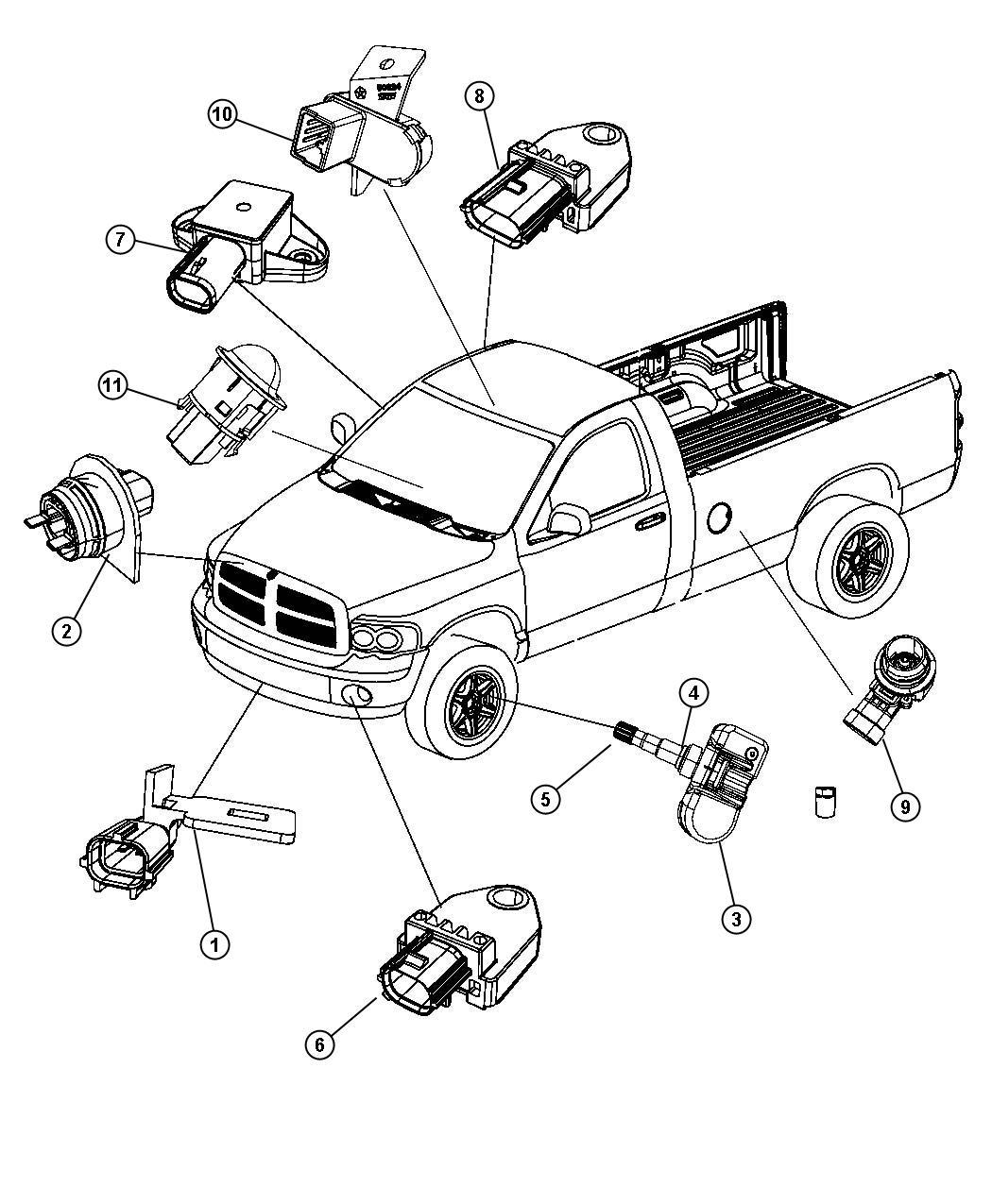 2011 jeep liberty sensor  infrared  trim    o0    rear