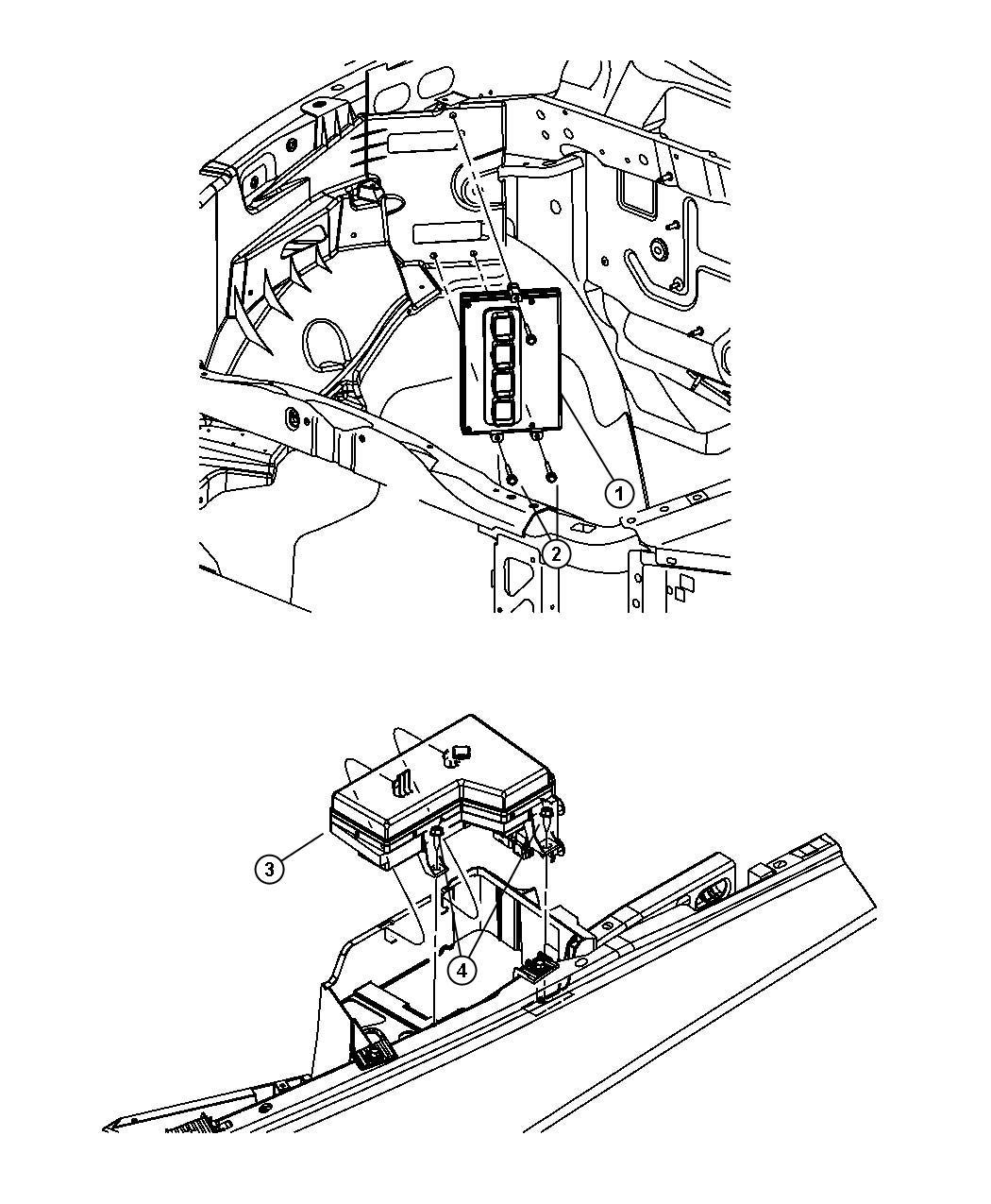 Dodge Ram 1500 Module  Powertrain Control  Generic  Engine