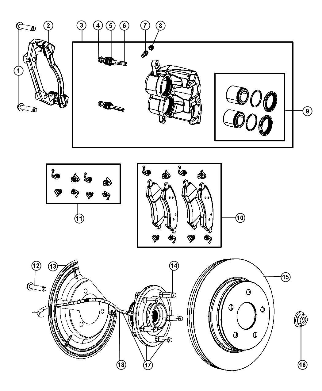 2011 dodge dakota rotor  brake  value line part  brakes  front  mopar