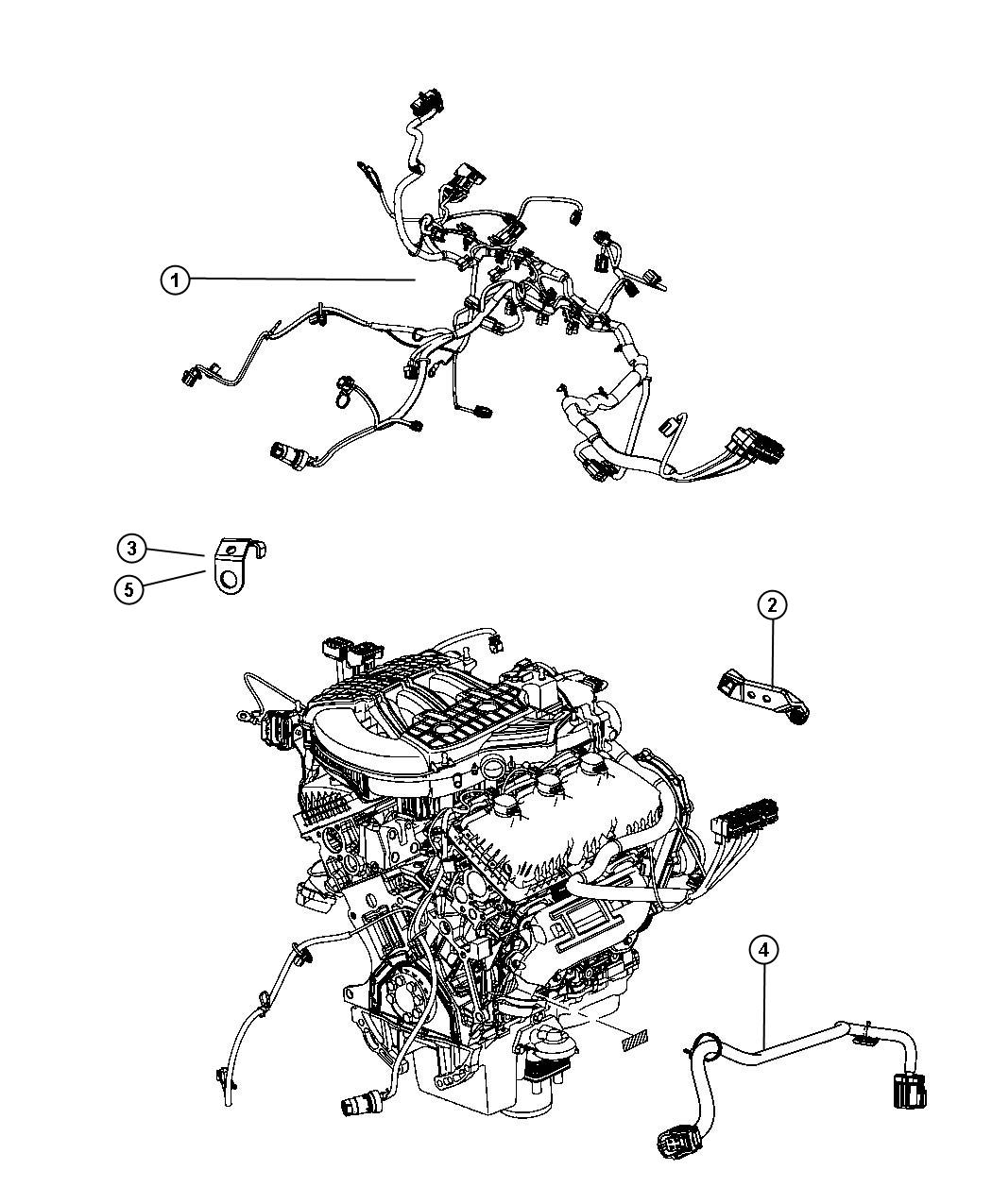 dodge nitro wiring  engine