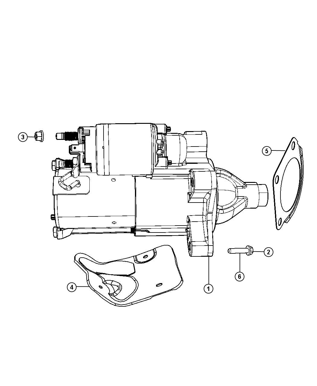 2010 jeep wrangler shield  starter  heat starter motor  up