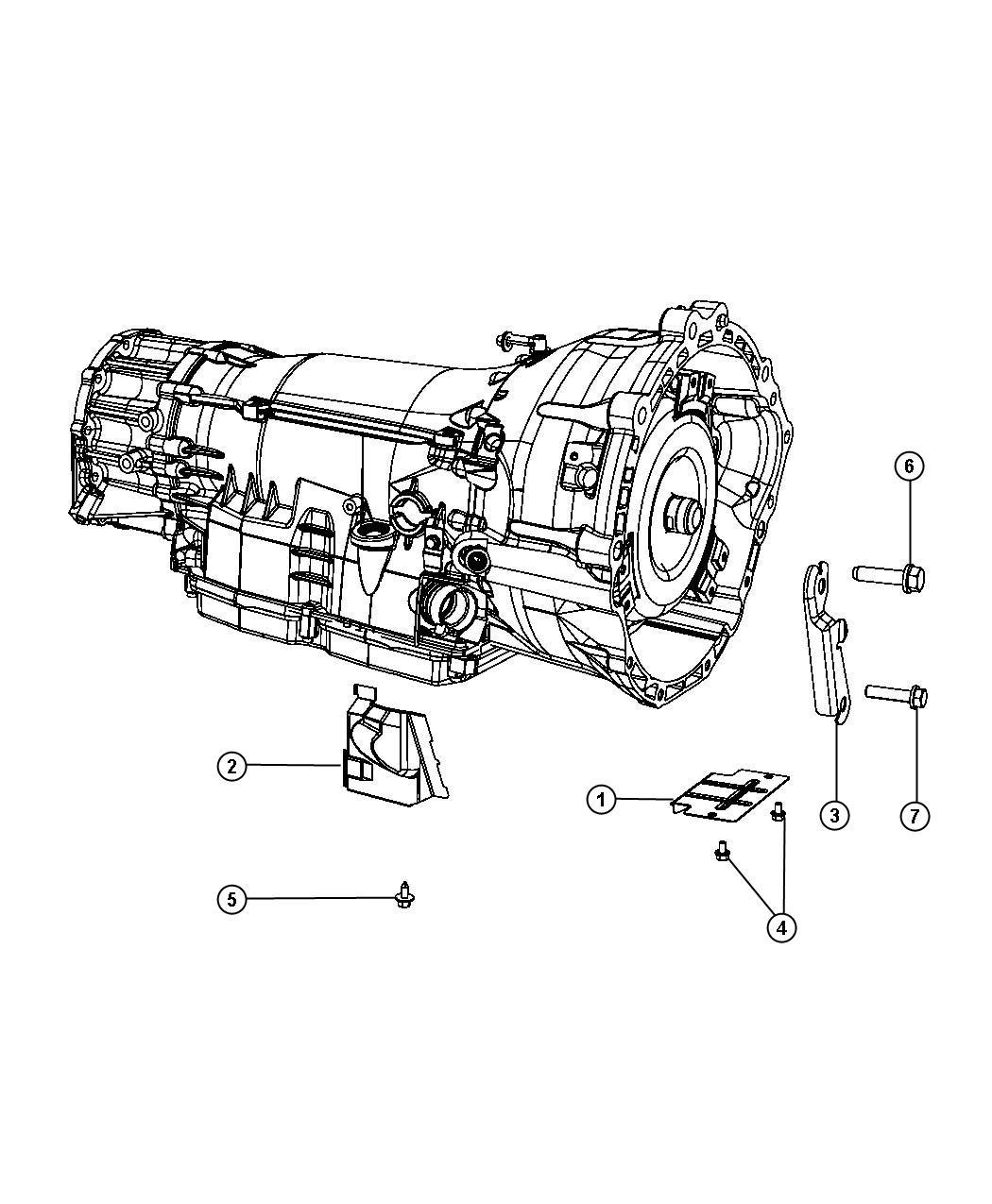 2011 dodge nitro shield  heat   transmission - 5-spd automatic   connector shield