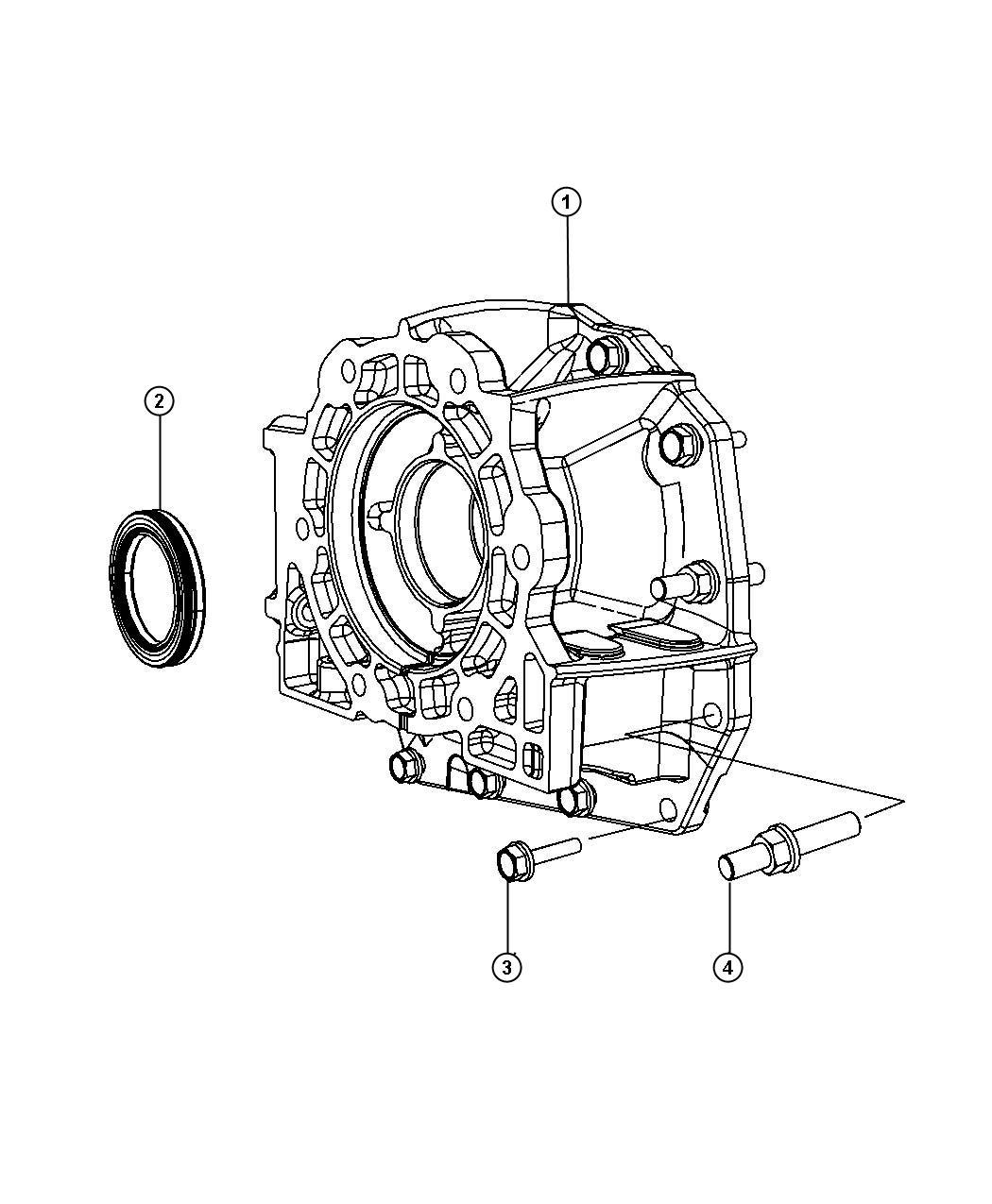 2013 dodge durango adapter  transfer case