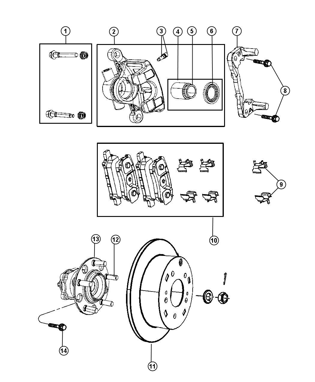 2011 jeep patriot suspension diagram