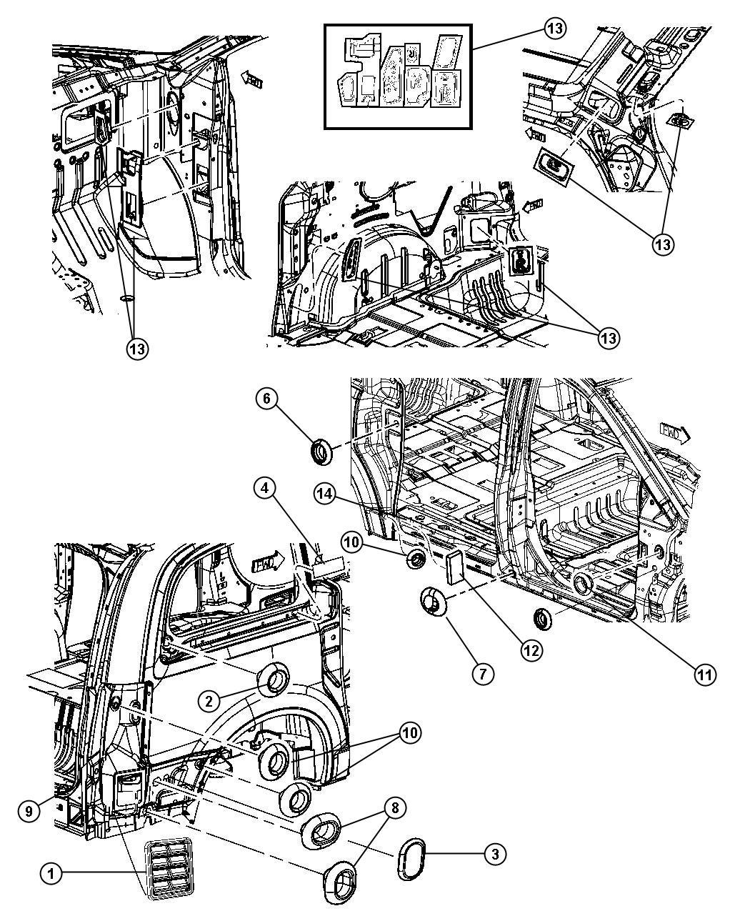 2011 Dodge Grand Caravan Plug Body 25 4mm X 38 1mm D Wiring Diagram
