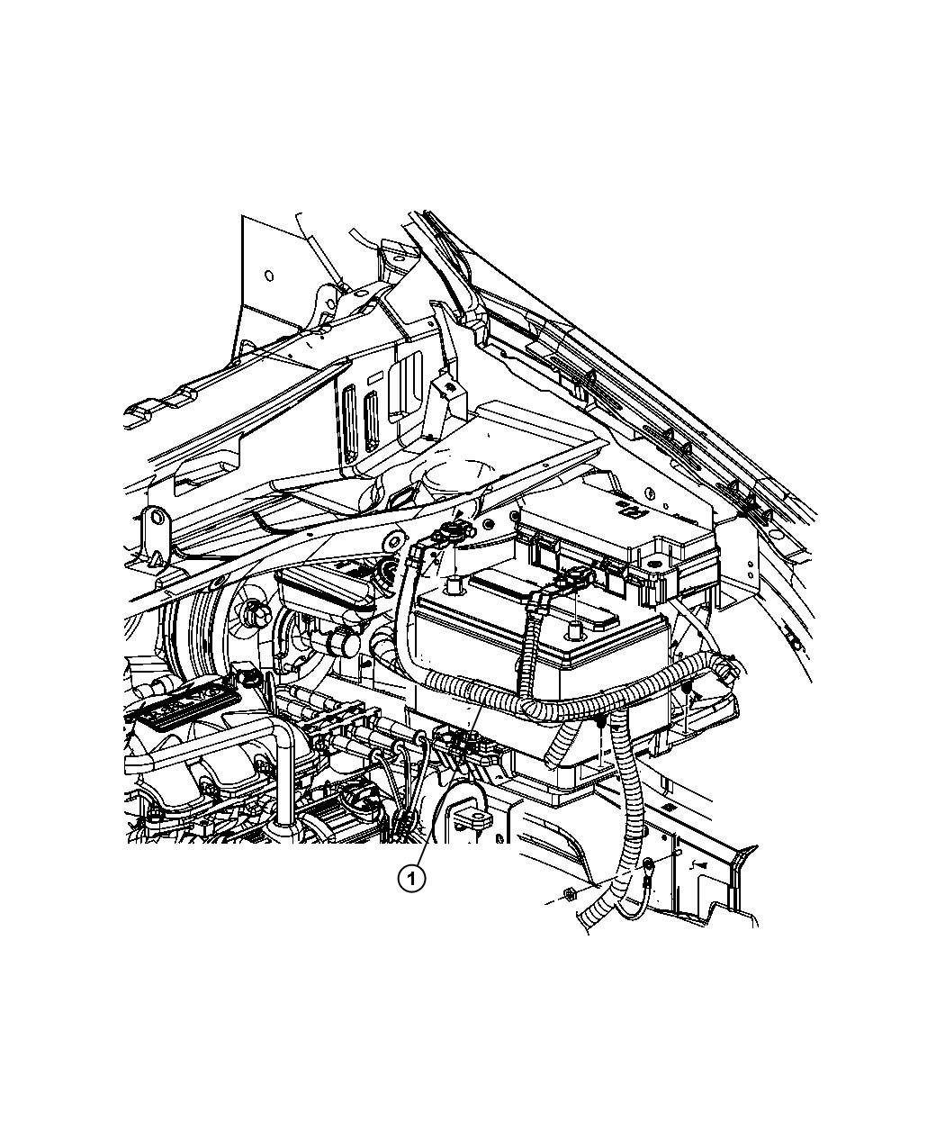 2011 dodge grand caravan terminal battery negative. Black Bedroom Furniture Sets. Home Design Ideas