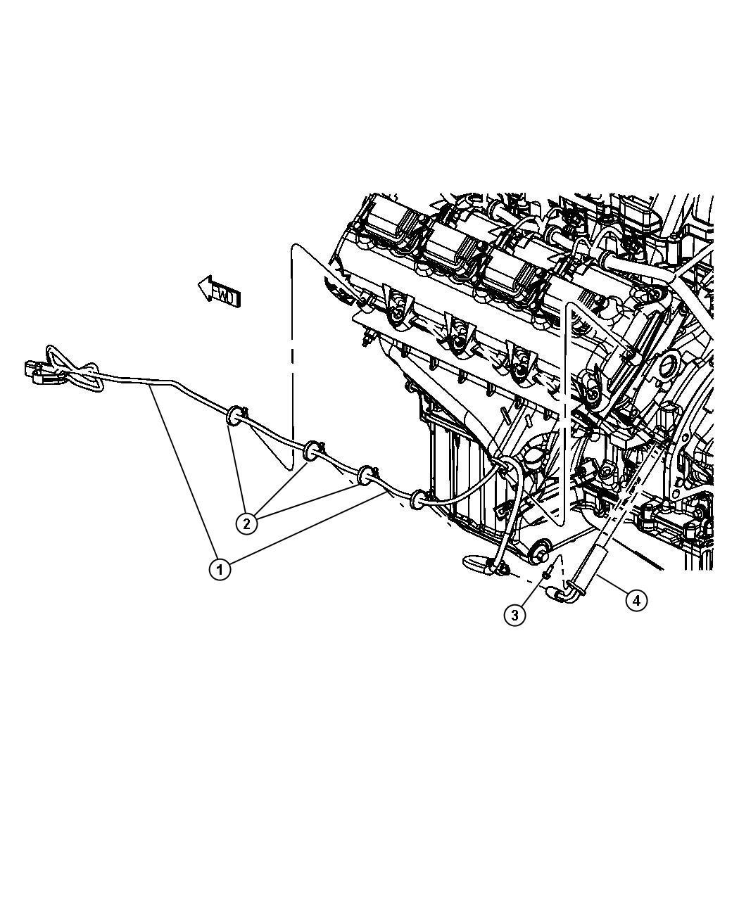 2013 Dodge Ram 3500 Cord  Engine Block Heater