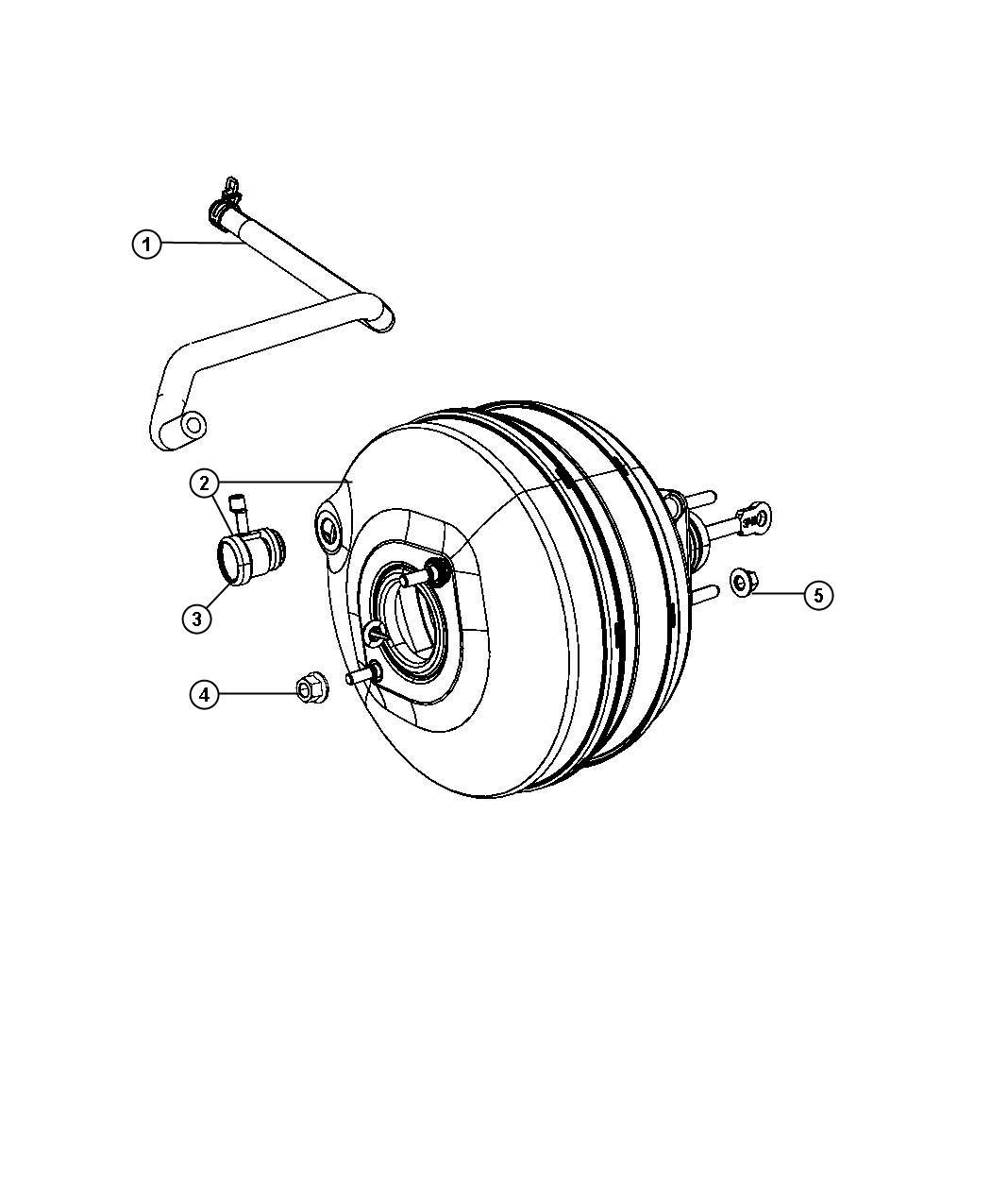 2012 dodge ram 1500 booster  power brake  vehicles built 9