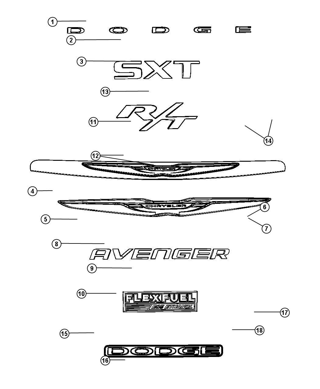 2012 Chrysler 300 Emblem. Lancia. Grille, Fog, Lamps