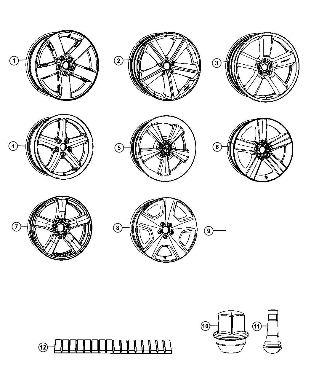 2007 Chrysler 300 Long Wheelbase: 2007 Chrysler 300 Wheel. Front Or Rear. Aluminum. Color