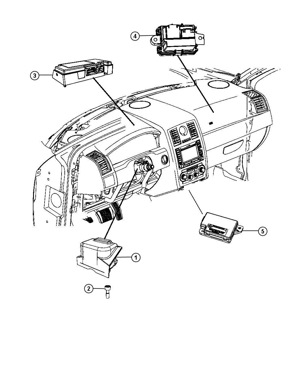 2013 chrysler 300 module  steering column   l9   sud