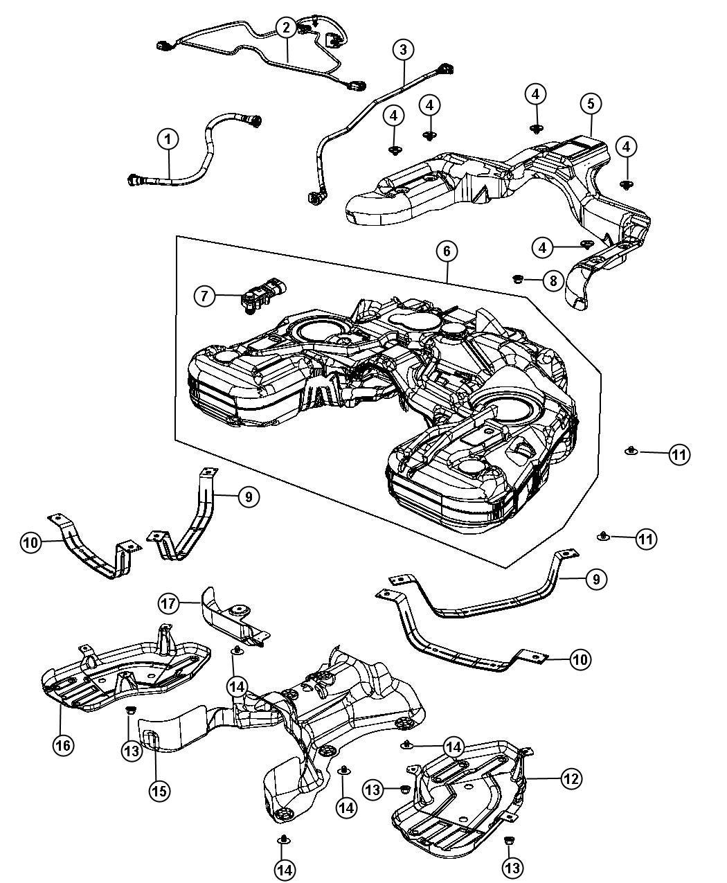 2015 dodge durango wiring  fuel tank jumper   nf4    nf4
