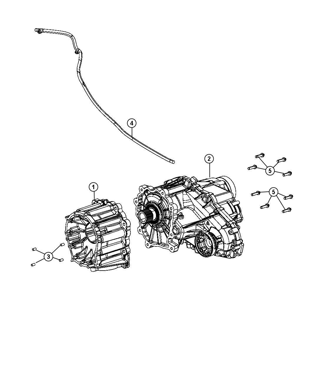 2015 jeep grand cherokee hose  transfer case vent