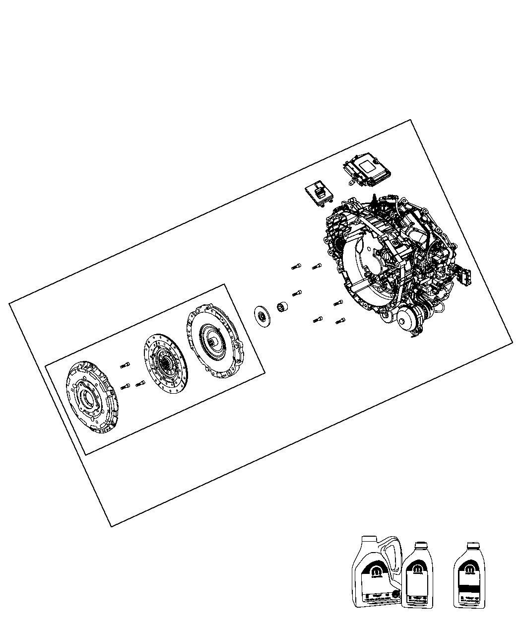 transaxle diagram dodge dart