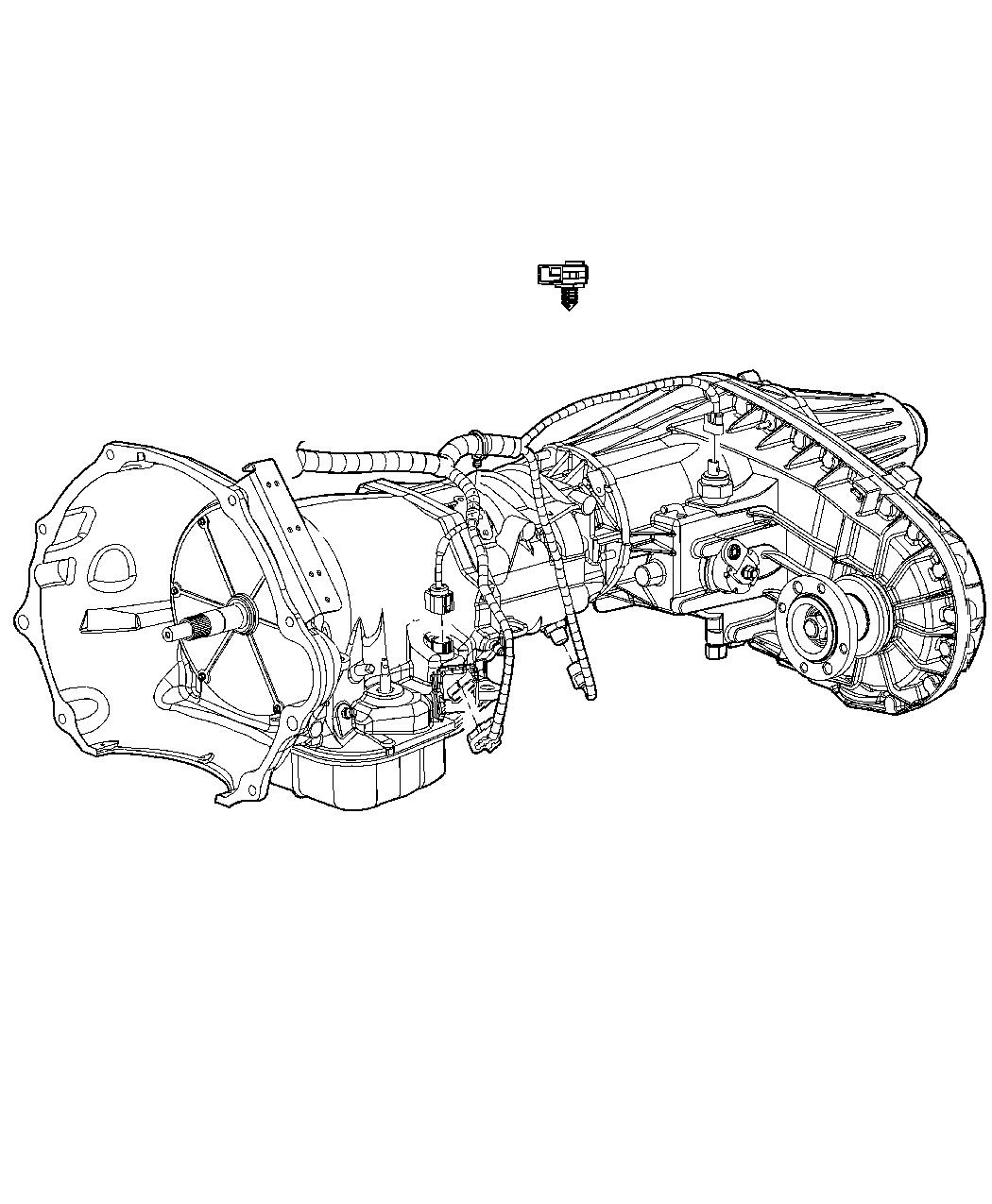 dodge ram 3500 wiring  transmission   elec shift