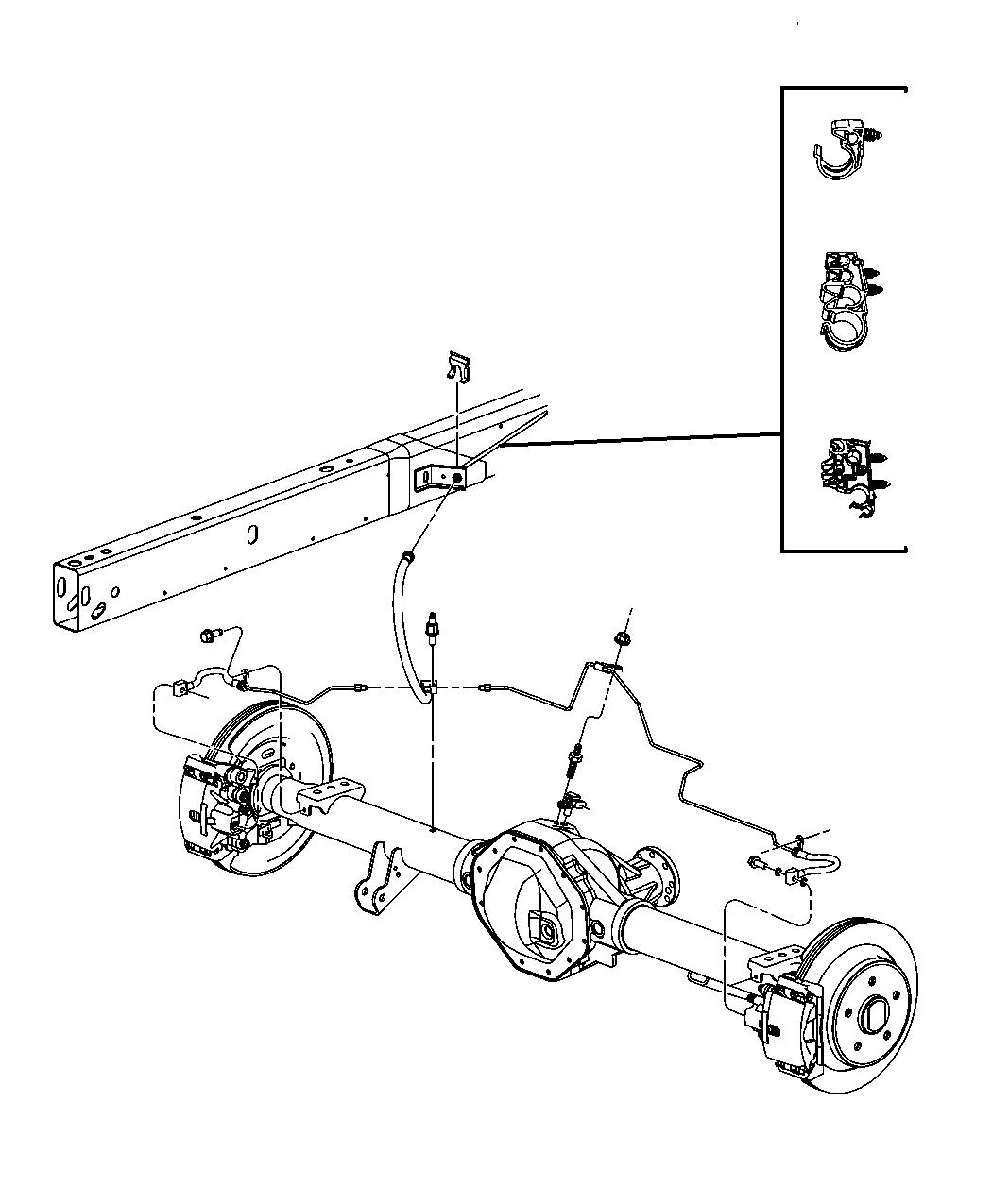 2013 dodge ram 2500 tube  right  brake   ez0    ez0