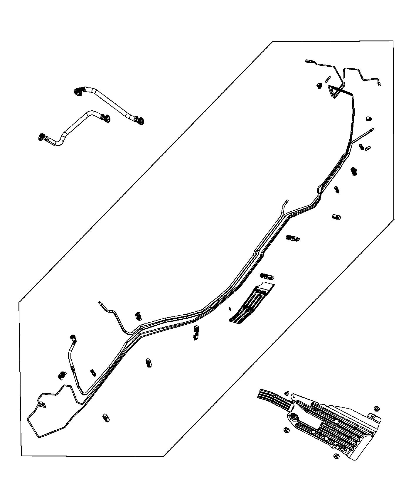 2014 Jeep Grand Cherokee Bundle  Fuel Line