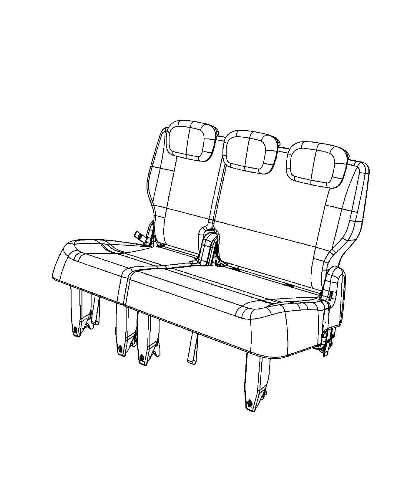 dodge caravan seating diagram