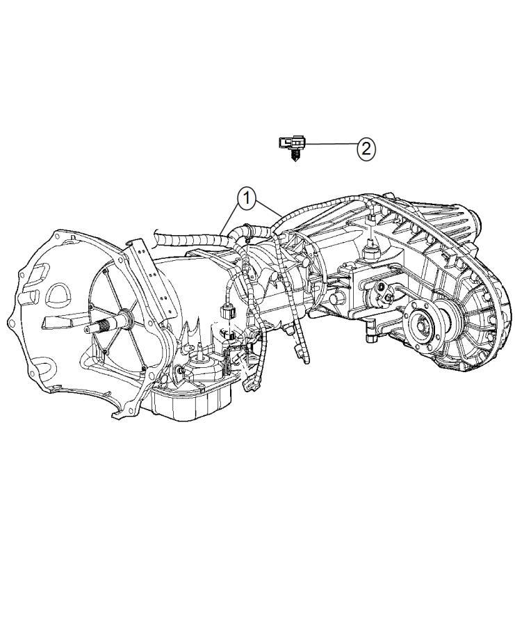 2014 ram 3500 wiring  transmission  powertrain  mopar  electrical  diesel