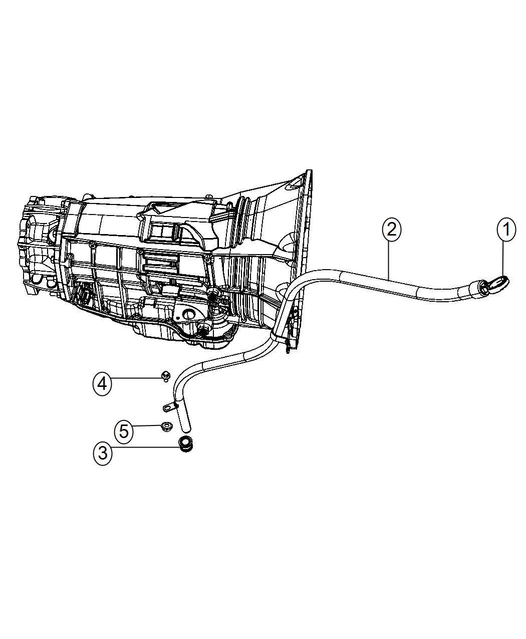 Dodge Ram 2500 3500 Mega Cab 2010 2012 Platinum Oval Step: 2014 Ram 2500 Indicator. Transmission Fluid Level