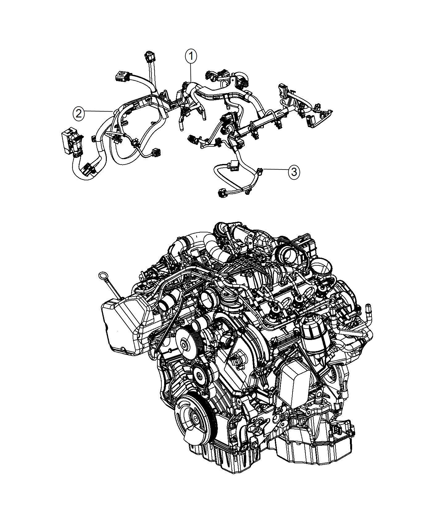 Ram 1500 Wiring  Engine  Transmission