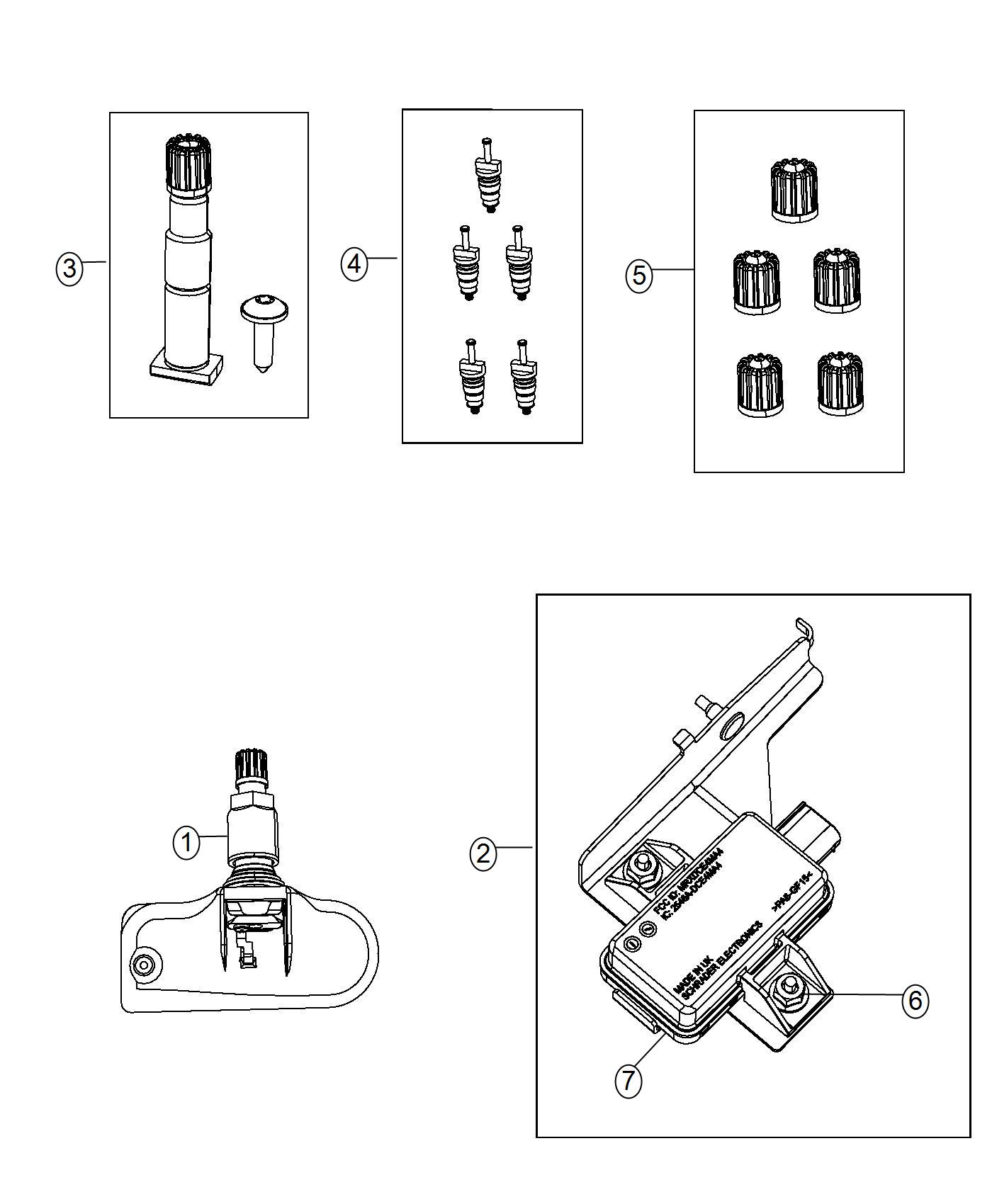 2014 Ram C V Tradesman Camshaft: Ram C/V TRADESMAN Module. Tire Pressure Monitoring. [xgm