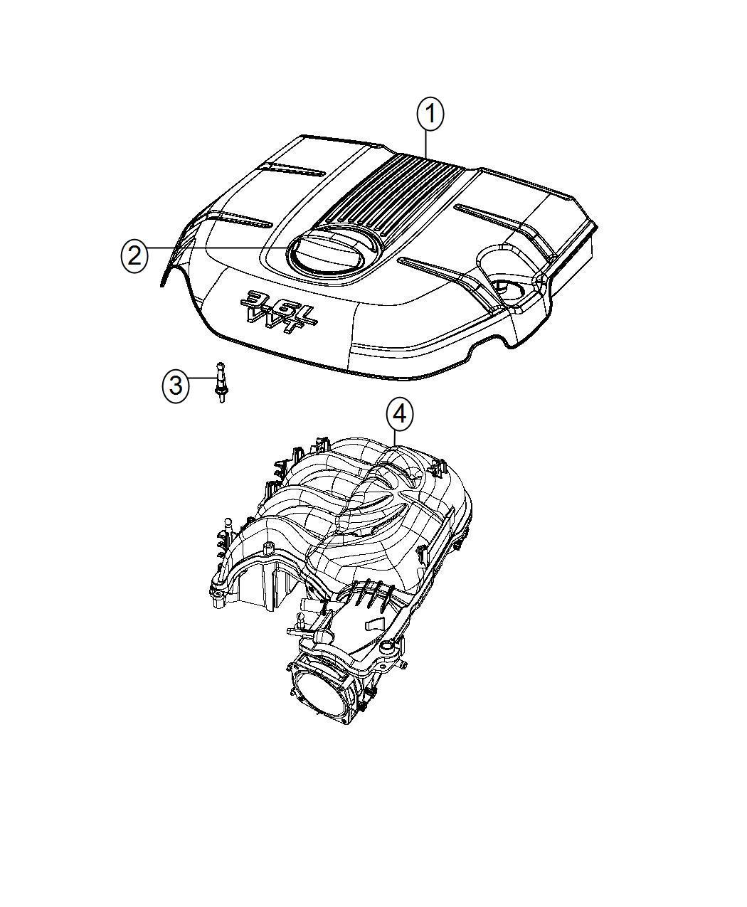 2015 dodge durango cover  engine