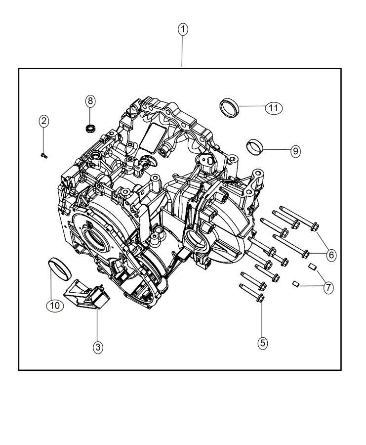 2015 Dodge Journey Plug  Transmission Case  Cab  U0026 Chassis
