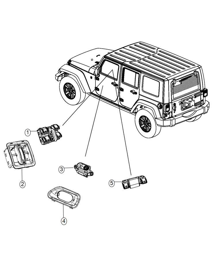 2015 jeep wrangler switch  power window   x81    jpy