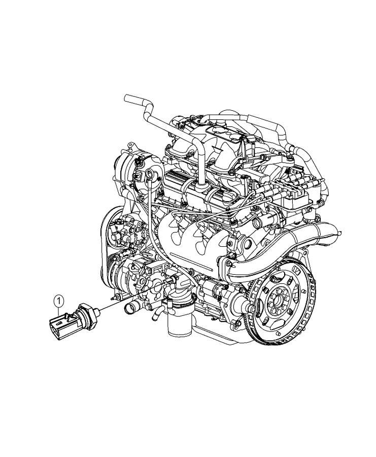 Chrysler Town  U0026 Country Sending Unit  Sensor  Oil Pressure