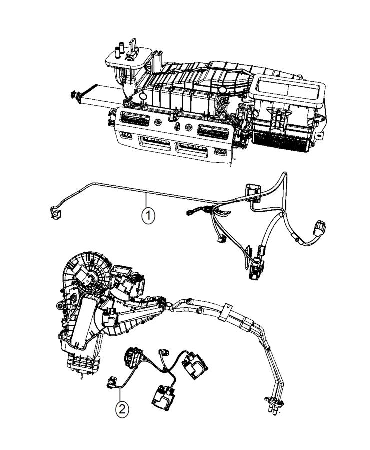 Chrysler Town  U0026 Country Wiring  Used For  A  C And Heater