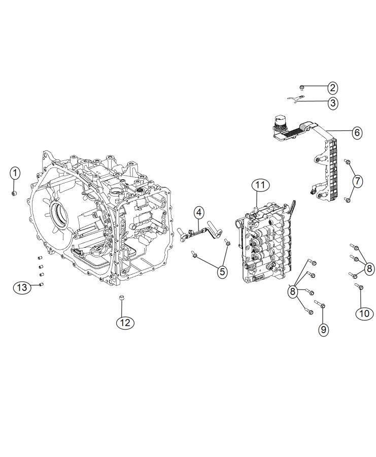 2015 dodge dart wiring  jumper  transmission  train  module  power