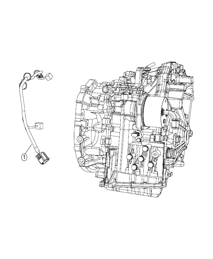 2015 Jeep Patriot Wiring  Jumper  Transmission  Train