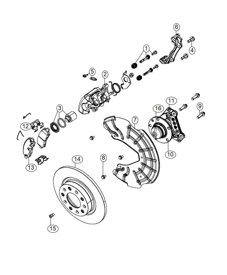 2015 Dodge Dart Rotor  Brake  Rear  Magneti Marelli  Value