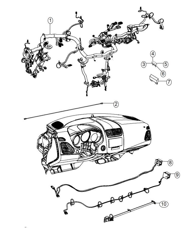 Dodge Dart Wiring  Instrument Panel  Air  Amplified  Atc