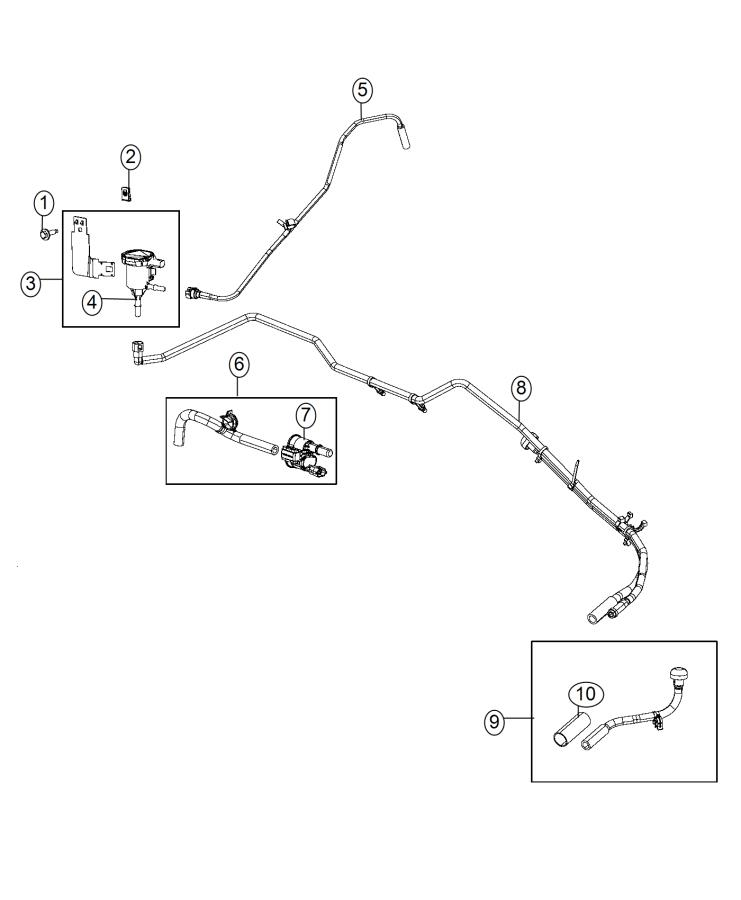 2015 Ram 2500 Valve  Linear Purge  Valve Assembly With