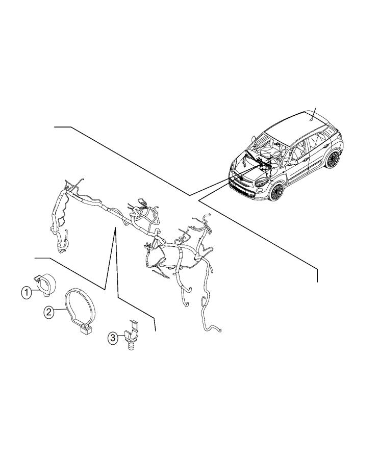 Fiat 500l Clip  Sensor