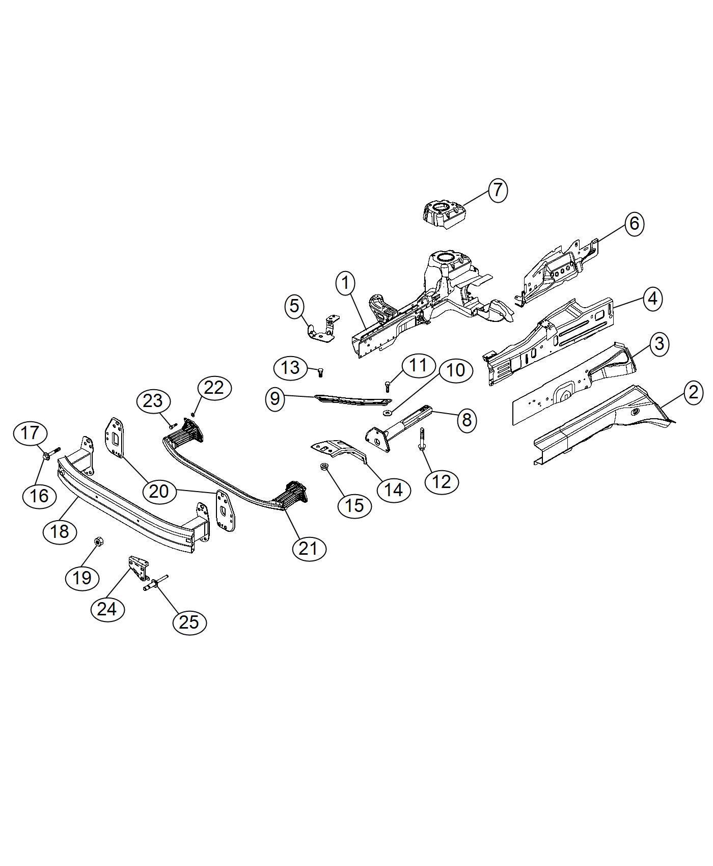 2015 jeep renegade bracket  forward collision warning  export   full speed fwd collision warn