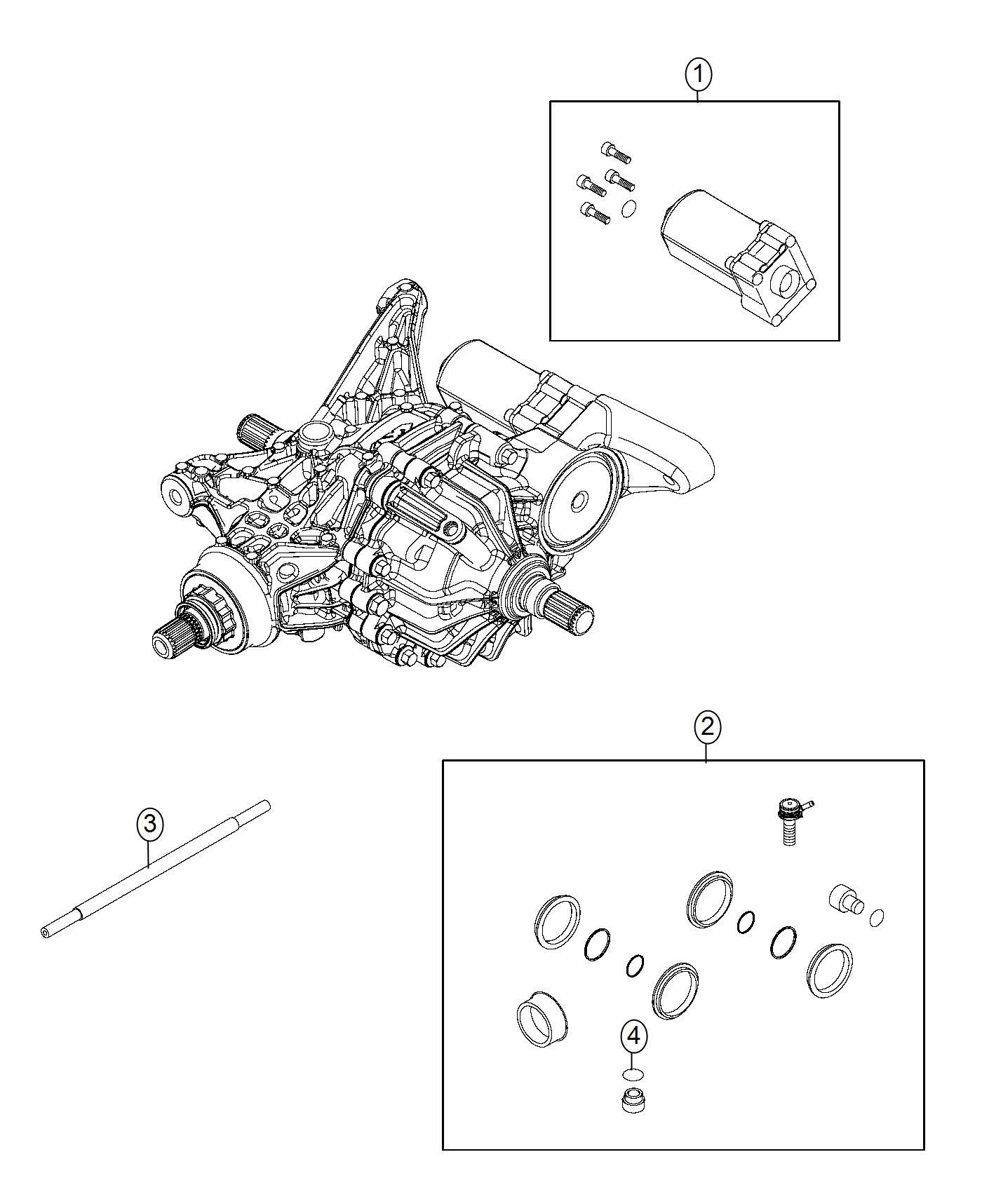 Fiat 500x Motor Kit  Axle  Export