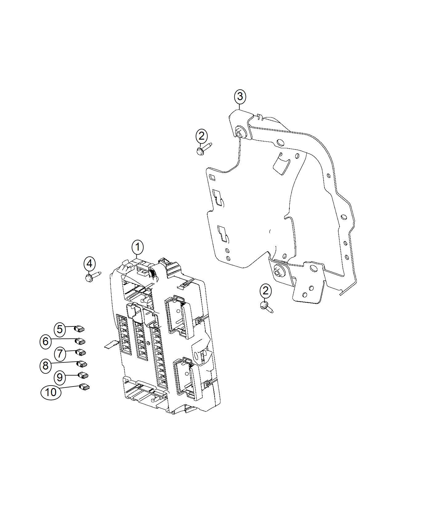 2016 dodge dart module  body controller   high intensity discharge headlamps