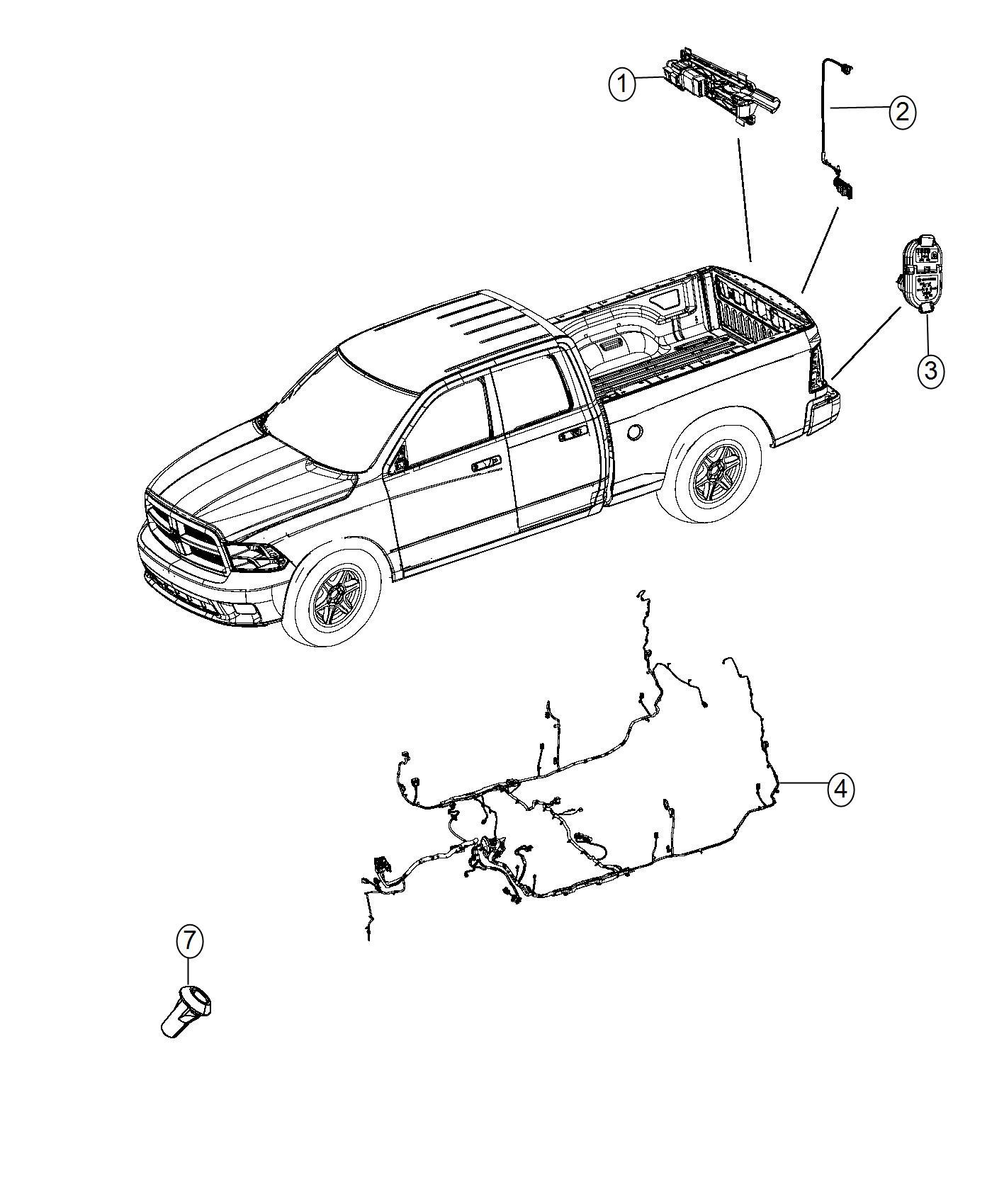 on ram tailgate camera wiring diagram