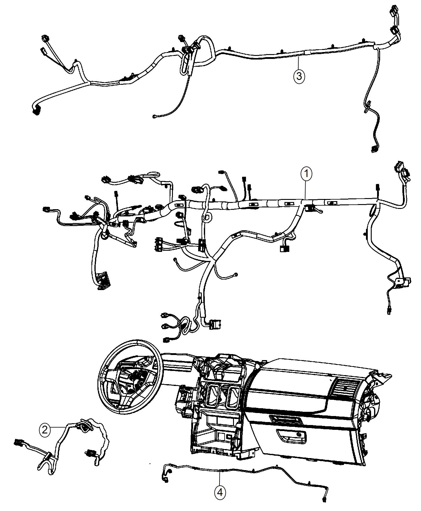 2015 chrysler town  u0026 country wiring  passive entry
