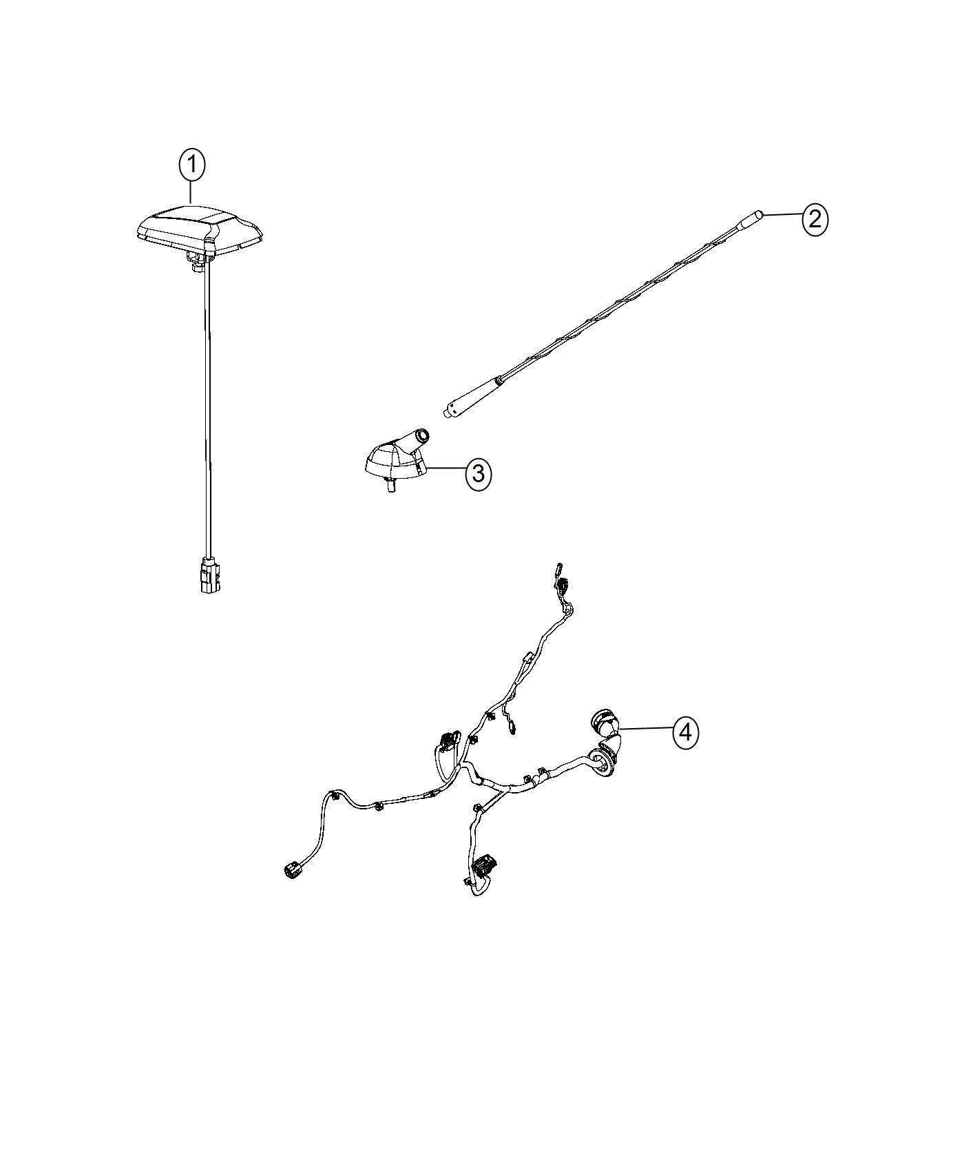 2016 ram promaster city wagon slt mast antenna radio. Black Bedroom Furniture Sets. Home Design Ideas