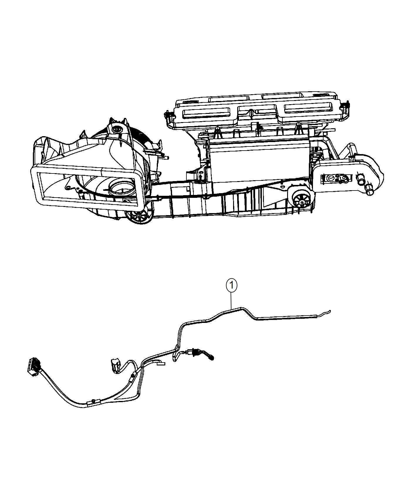 Dodge Charger Wiring  Used For  A  C And Heater