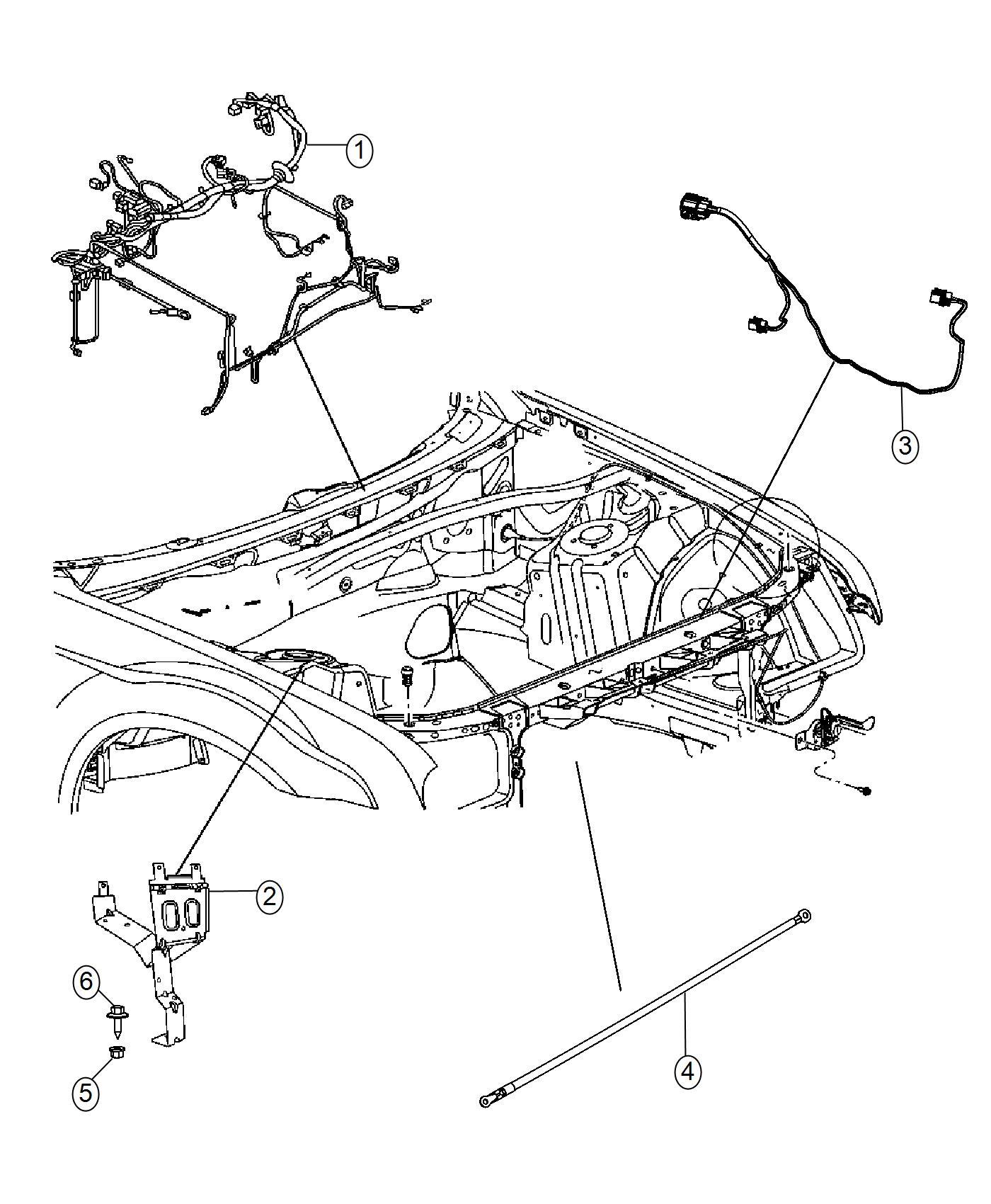 2016 chrysler 300 wiring  headlamp to dash  lmq  adaptive