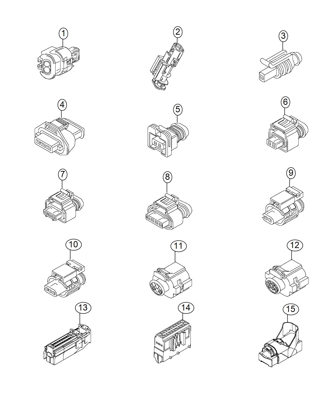 2016 ram promaster city wagon connector  electrical  dashboard front  wiring  connectors