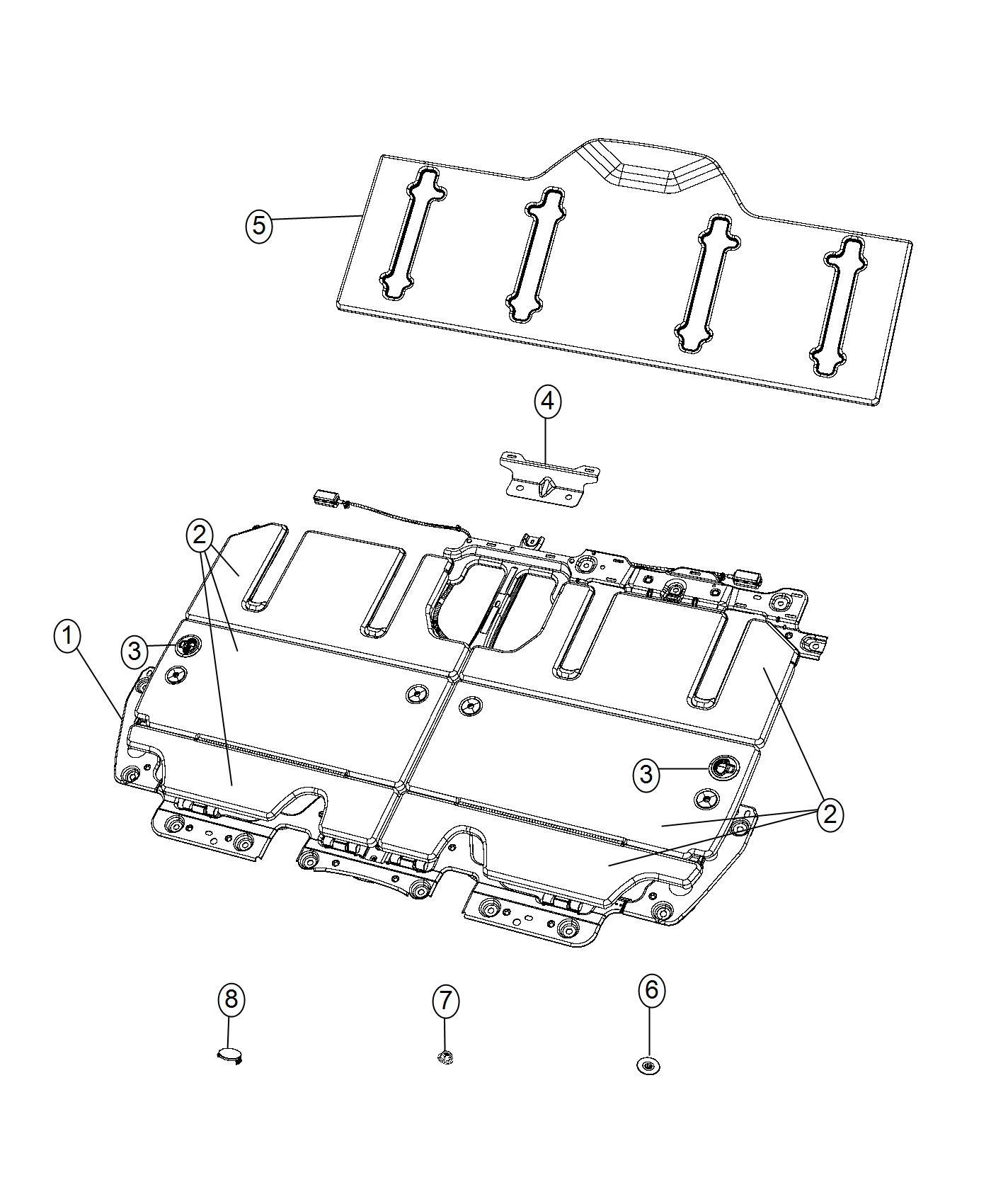 2017 Chrysler Pacifica Panel. Close Out. [cognac/alloy