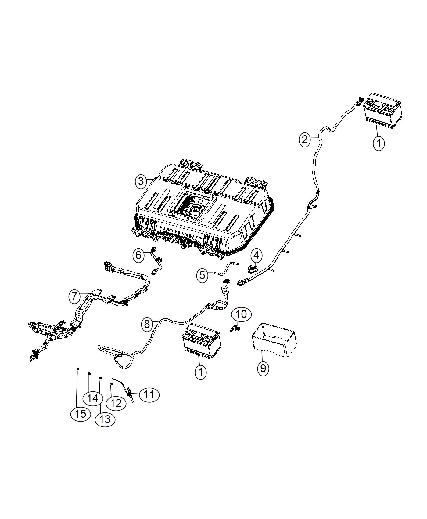 Chrysler Pacifica Wiring  Battery Negative   Phev Adaptation Components
