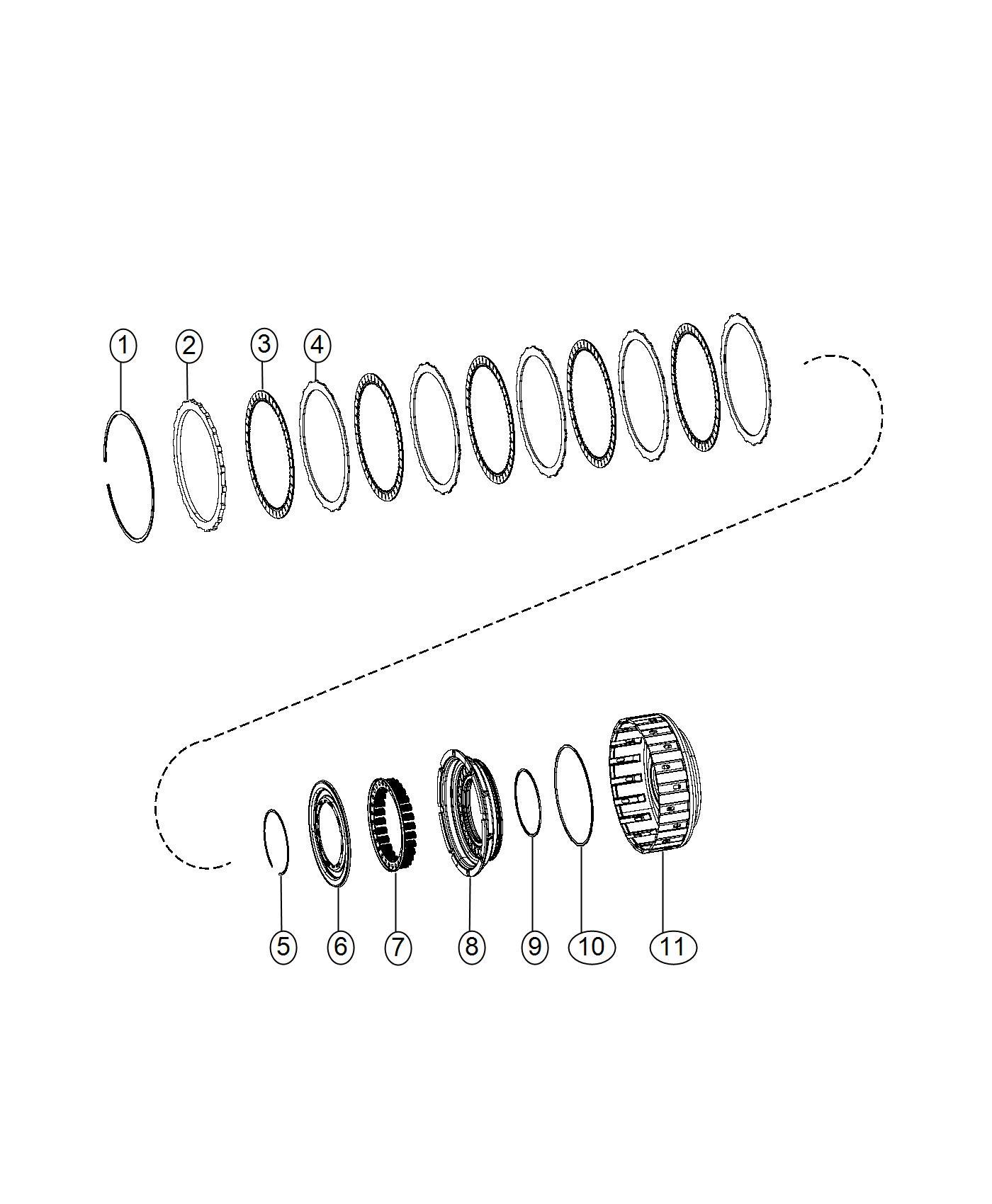 Ram 3500 Plate  Clutch Separator  Transmission O  Drive